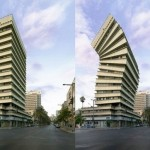 Um prédio-sanfona totalmente à prova de fortes terremotos