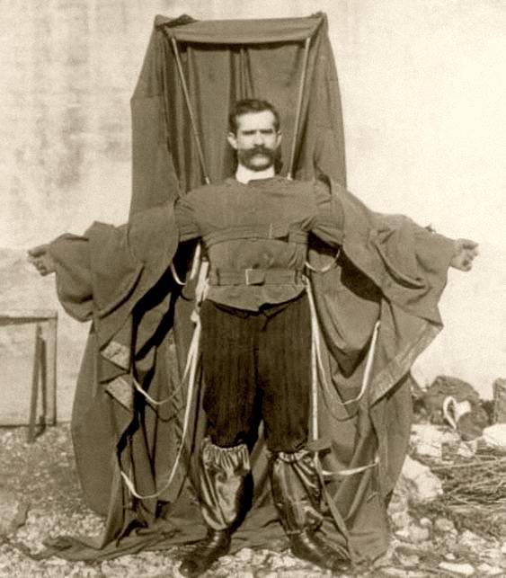 Paraquedas de Franz Reichelt