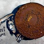 O graffiti surreal da Espanha pela arte do misterioso Sr. X