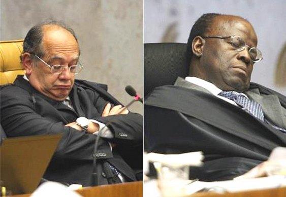 Juízes puxando ronco