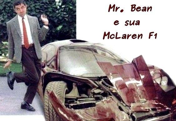 McLaren detonada de Mr. Bean