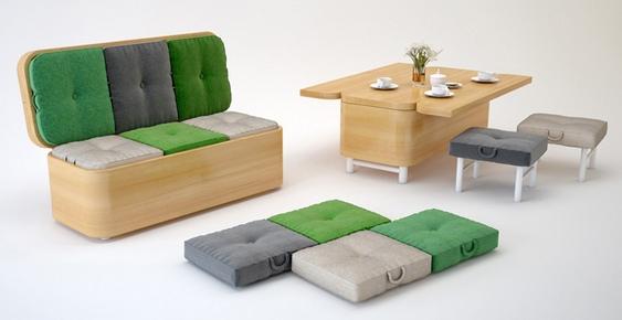 Baú Sofá Cadeira e Mesas