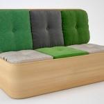 Design de baú multifuncional para pequenos apartamentos