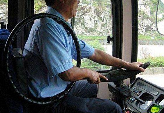Motorista de ônibus russo
