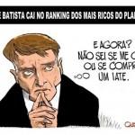 Eike Batista a um passo da 'segunda divisão' entre os ricos