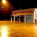Cena das 'águas de março' na cidade serrana de Petrópolis