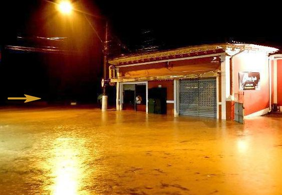 Enchente em Petrópolis