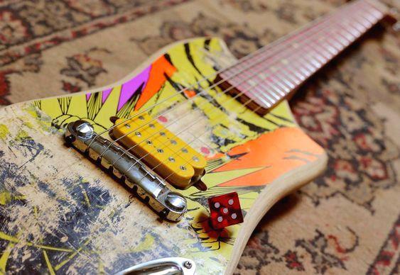 Reciclagem de instrumento musical