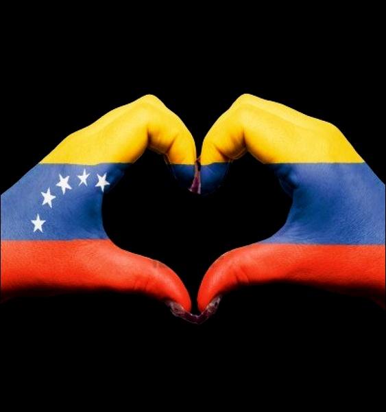 Homenagem ao presidente da Venezuela