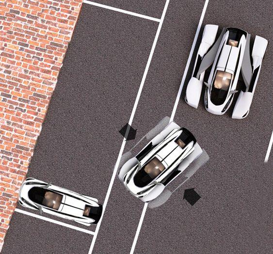 Veículo de eixo retrátil