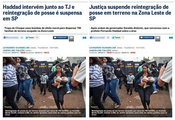 Globo manipula notícia