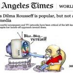 Até a imprensa estrangeira fica 'bolada' com ataques a Dilma