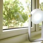 Design para spot multiuso como luminária, abajur e lanterna