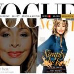 Tina Turner: mulher mais velha a ganhar capa da revista Vogue