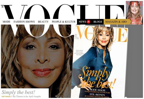 Tina Turner aos 70 anos