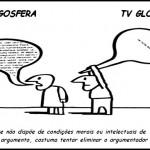 Derrotada pelas ideias, Globo tenta calar blogs progressistas