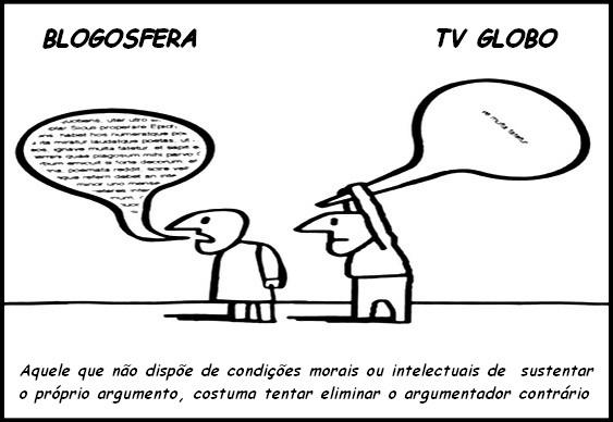 Globo tenta calar blogosfera