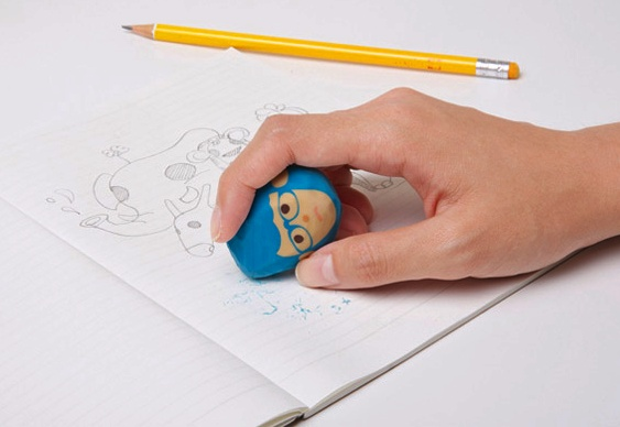 Borrachas para lápis