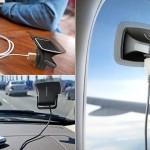 Carregador solar de celulares para colar em janelas