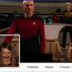 Imagens de perfil no Facebook em cenas de cinema