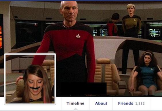 Efeito foto capa Facebook
