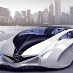 Carro conceito Mercedes-Benz com design inspirado nos golfinhos