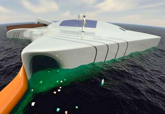 Plataforma flutuante ecológica