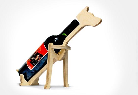 Suporte para vinhos - Cão