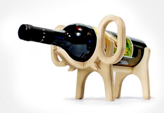 Suporte para vinhos - Bicho