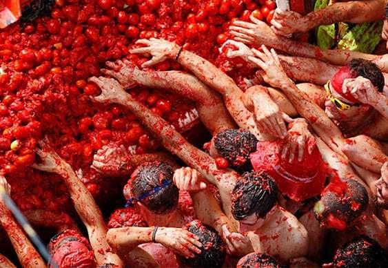 Guerra do tomate