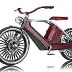 O alto luxo da bicicleta elétrica Cykno com design retrô