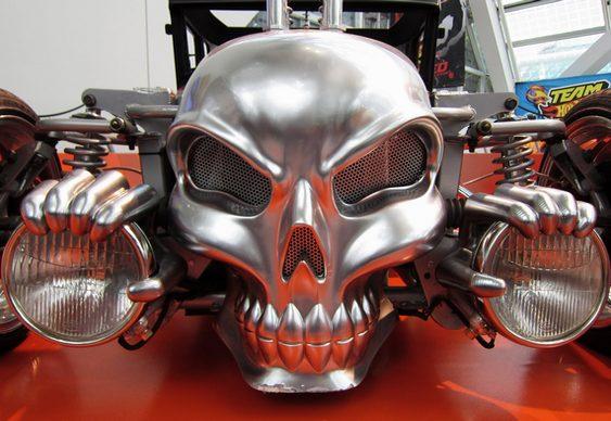 Carro Hot Rod Caveira