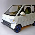 Projeto de carro elétrico compacto para transporte de idosos
