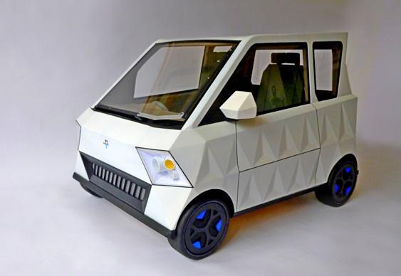 Conceito de carro urbano