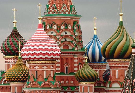 Igreja ortodoxa na Praça Vermelha