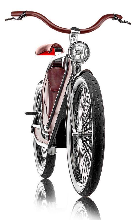 Bike em estilo retrô