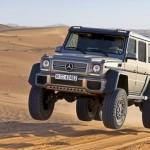 Vídeo espetacular com o jeep Mercedes-Benz G 63 AMG 6×6