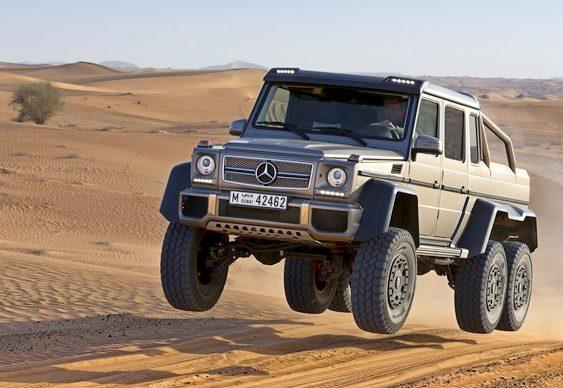Jipe Mercedes-Benz 6 rodas