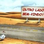 Por quê o frango e a galinha atravessam a rua ou a estrada?