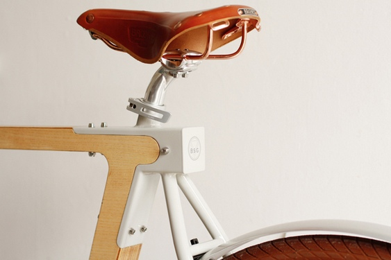 Bicicleta BSG WOOD.b