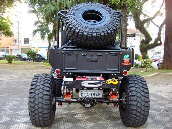 Jeep militar reforma
