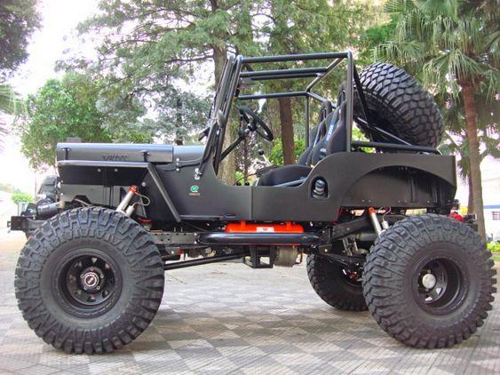 Jeep Willys customizado