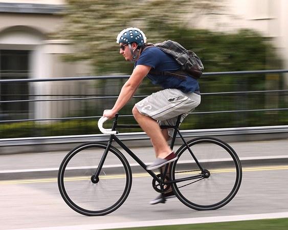 Capacete sanfonado para bicicletas