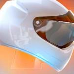 Novo capacete com realidade aumentada para motociclistas