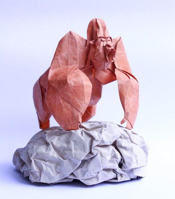 Origami Gorila