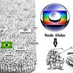 Globo e velha mídia tentam se apoderar do movimento popular