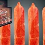 Lançada camisinha com cheiro e gosto irresistível de bacon frito