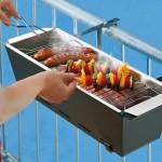 Projeto de churrasqueira pequena para varanda de apartamento