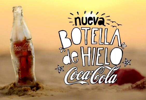 Picolé de Coca-Cola