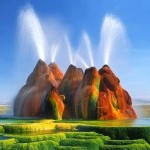 Espetacular! As montanhas coloridas de Fly Ranch Geyser
